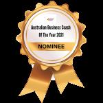 Website Medal - THE AUSTRALIAN COACHING AWARDS ASSOCIATION NOMINEE