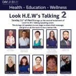 Look HEW's Talking Event Poster